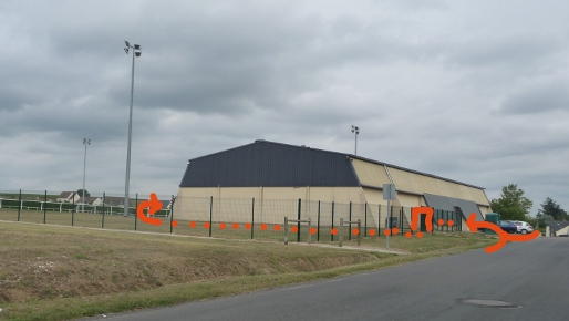 Gymnase de Saint-Martin-le-Beau